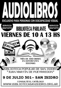 Biblioteca Parlante - Cartel 2